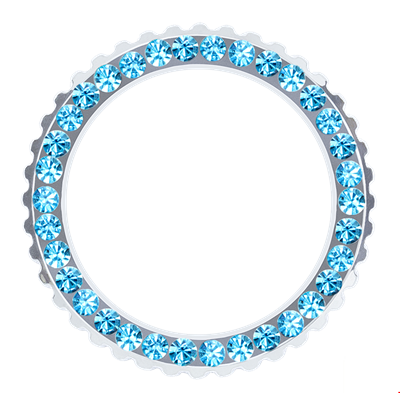 Picture of Aquamarine Crystal Bezel