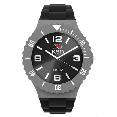 Picture of Black and Grey Complete Watch