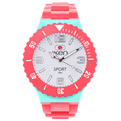 Picture of Coral, Aquamarine and White Sport Complete Watch