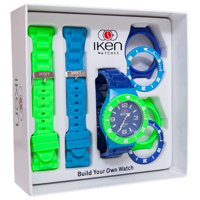 Picture of Green, Light Blue and Navy Sport Gift Box
