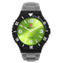 Picture of Grey, Black and Green Complete Watch