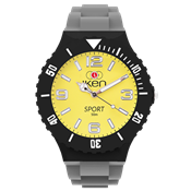 Picture of Grey, Black and Yellow Sport Complete Watch