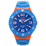 Picture of Light Blue, Orange and Navy Sport Complete Watch