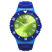 Picture of Navy, Light Blue and Green Complete Watch