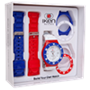 Picture of Navy, Red and White Sport Gift Box