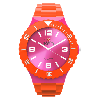 Picture of Orange and Pink Complete Watch