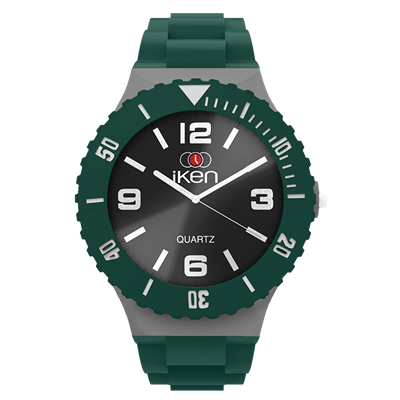 Picture of Forest Green, Grey and Black Complete Watch