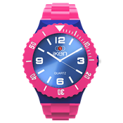 Picture of Pink and Navy Complete Watch