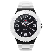 Picture of White and Black Sport Complete Watch