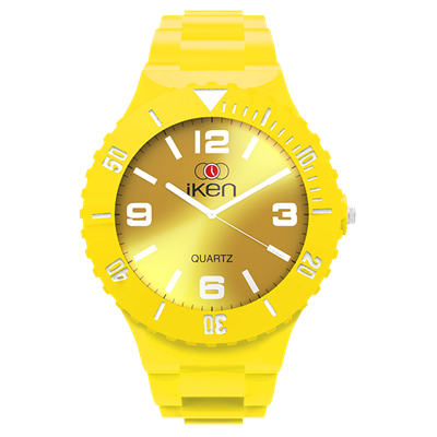 Picture of Yellow Complete Watch