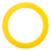 Picture of Flat Yellow Bezel